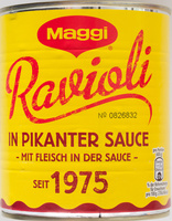 Ravioli in pikanter  Sauce - Produkt - de