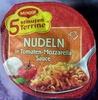 Nudeln in Tomaten-Mozzarella-Sauce - Produkt