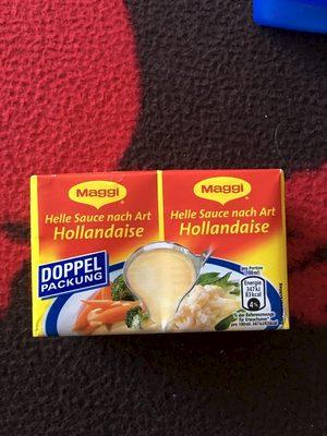 Helle Sauce nach Art Hollandaise - Produit - fr