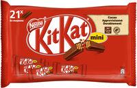 KITKAT Mini Barre au chocolat au Lait - Produit - fr