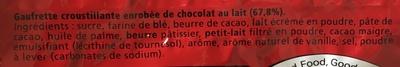KitKat mini - Ingrédients - fr