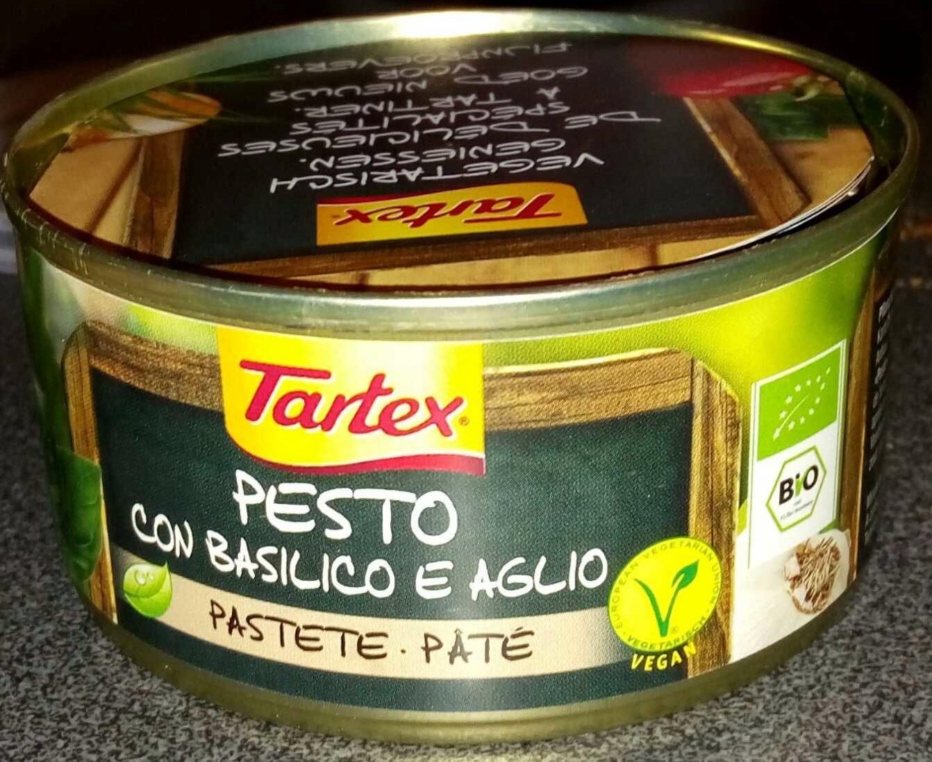 Pesto con basilico e aglio - Produit