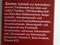 Amecke +Eisen - Ingrediënten - de