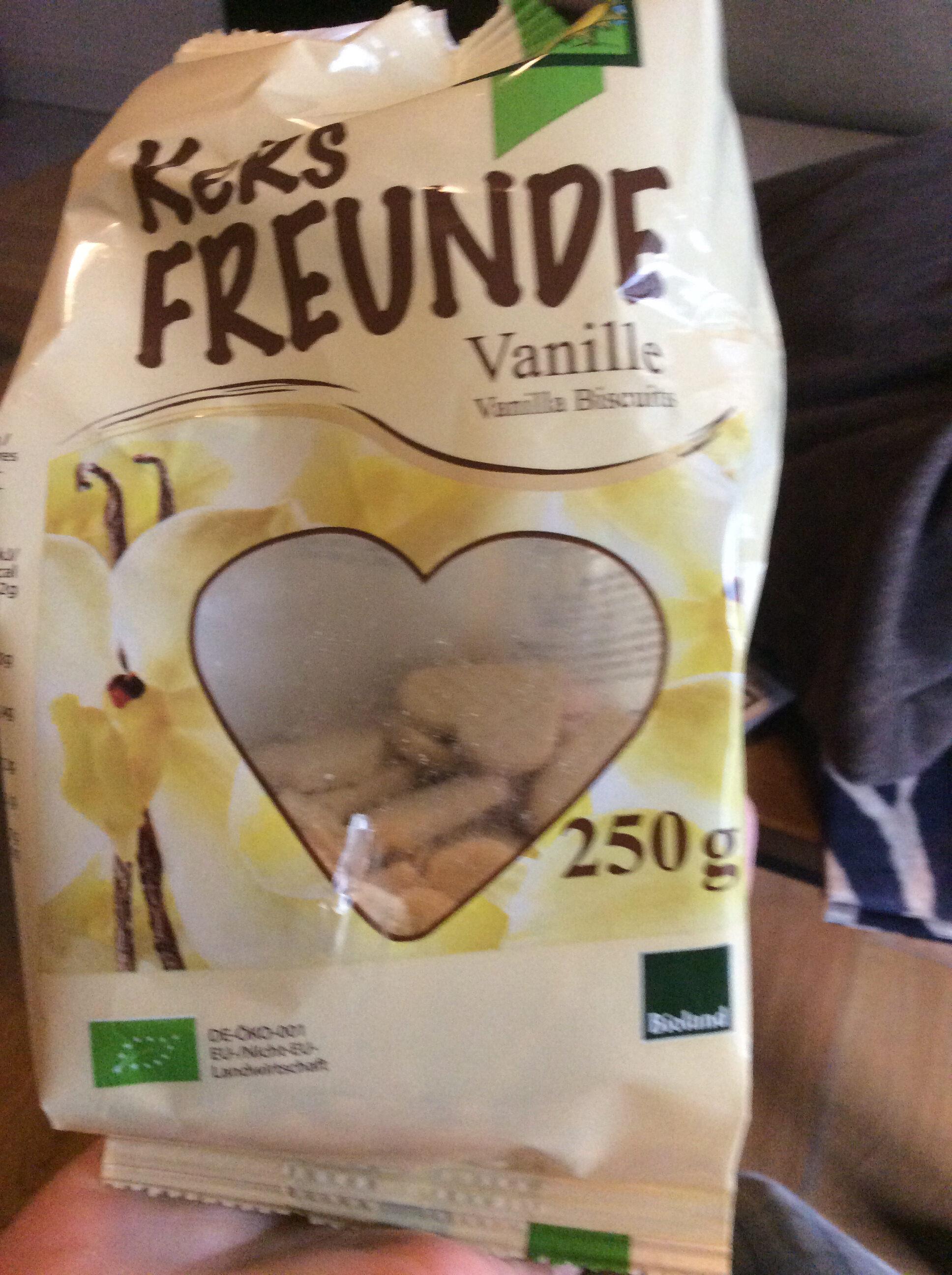 Keks Freunde Vanille - Produit - fr