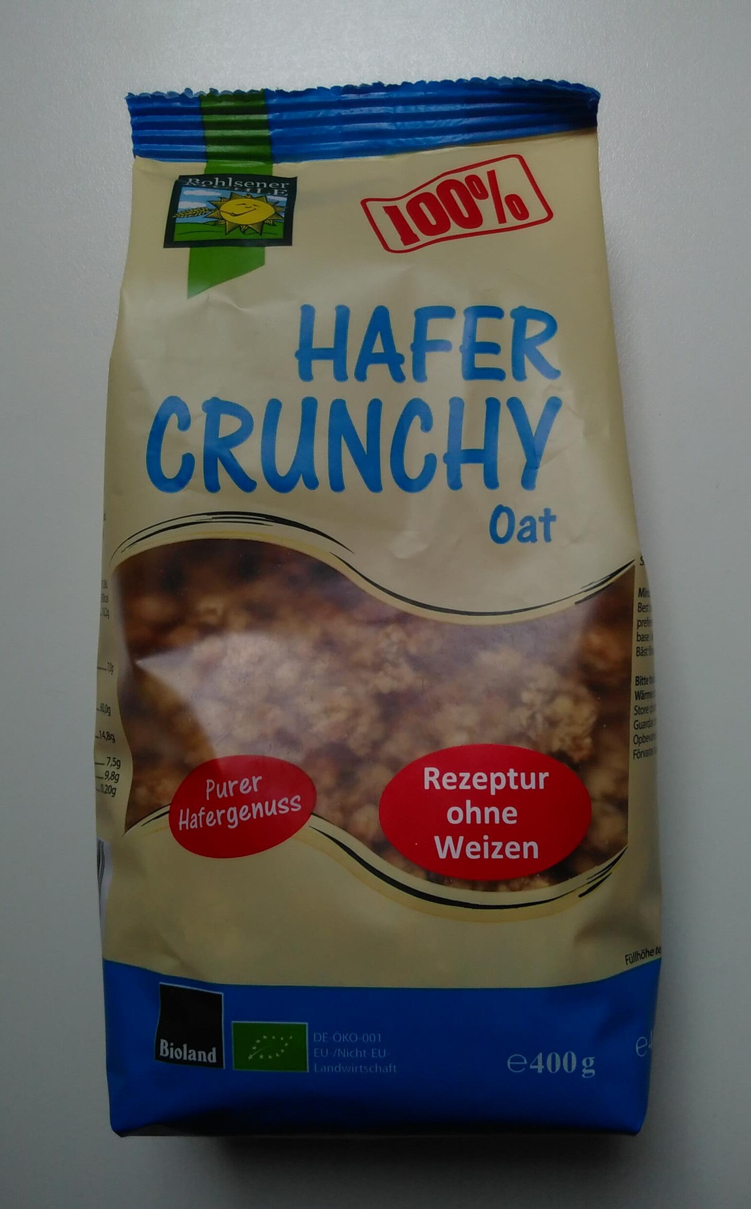 Hafer Crunchy Oat - Product