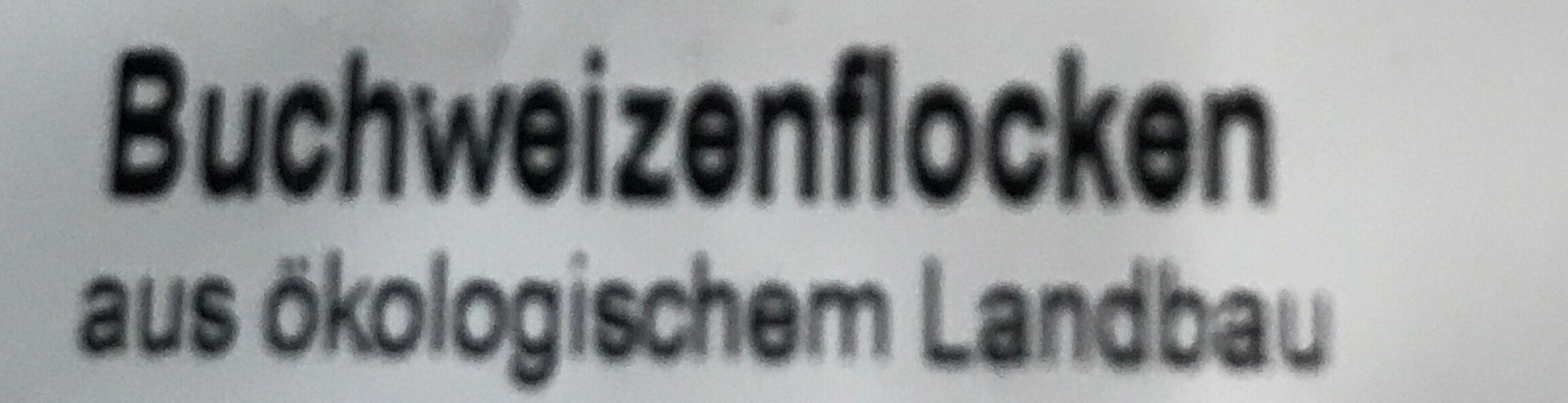 Buchweizen Flocken - Ingredients