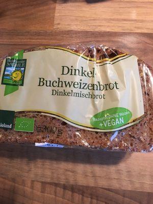 Dinkel Buchweizenbrot - Product