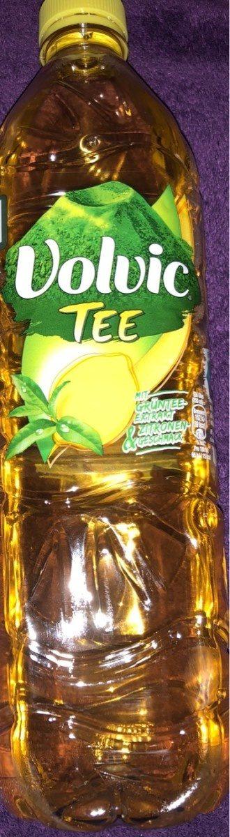 Volvic Grüner Tee Zitrone - Produit