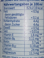 Orange Sport isotonisch - Nutrition facts - de