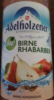 Adelholzener bio Birne-Rhabarber - Product