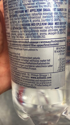 Active 02 - Nutrition facts