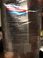 Active O2 Cherry, Cherry - Nutrition facts