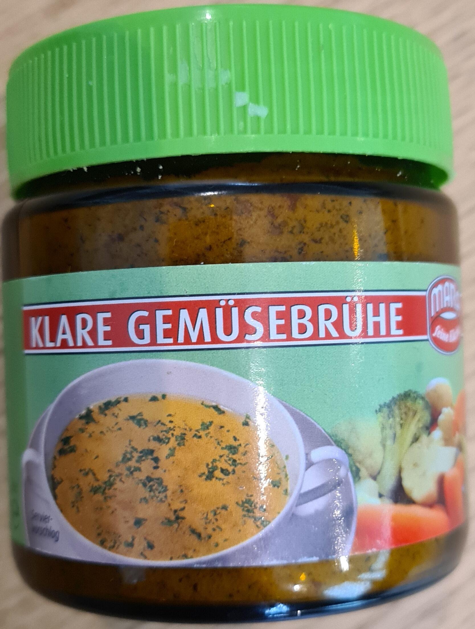 Klare Gemüsebrühe - Produit - de