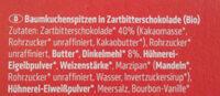 Baumkuchenspitzen - Ingredients