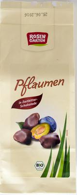 Pflaumen in Zartbitterschokolade - Product - de