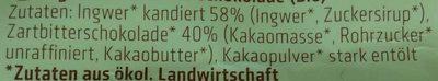 Ingwerstücke - Ingrédients - de