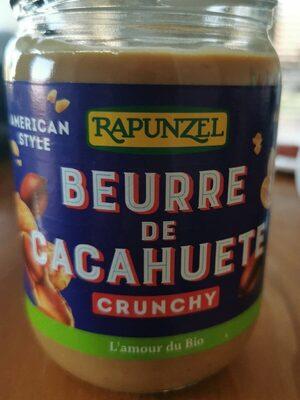 Beurre de cacahuète Crunchy - Prodotto - fr