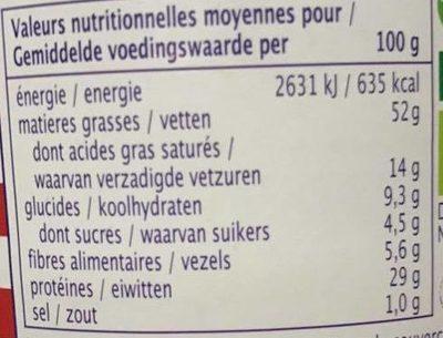 American Style Beurre de Cacahuète - Informations nutritionnelles