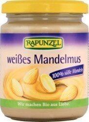 Rapunzel Weißes Mandelmus, 500 GR Glas - Produit - de
