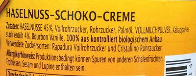 SAMBA Haselnuss - Ingrediënten - de