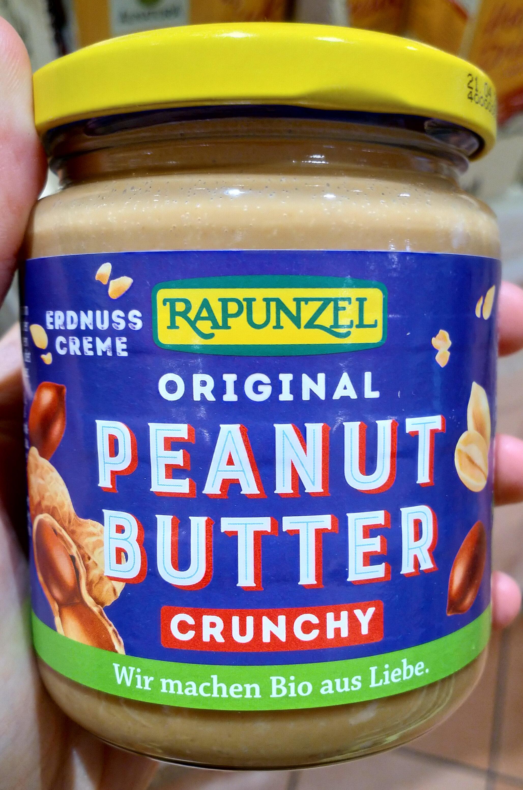 Original Peanutbutter crunchy - Produit - de