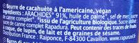 Original Peanutbutter crunchy - Ingrédients - fr