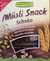 Müsli Snack Schoko - Produit - fr