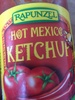 Hot Mexico Ketchup  - Produit