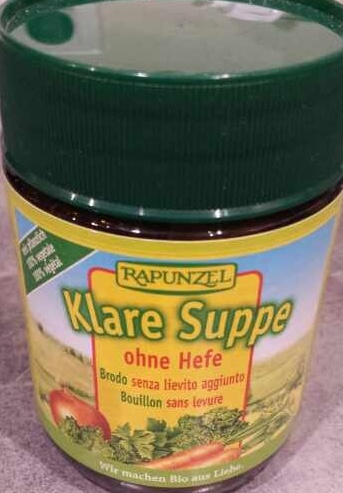 Klare Suppe ohne Hefe - Product