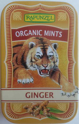 Organic Mints Ginger - Product