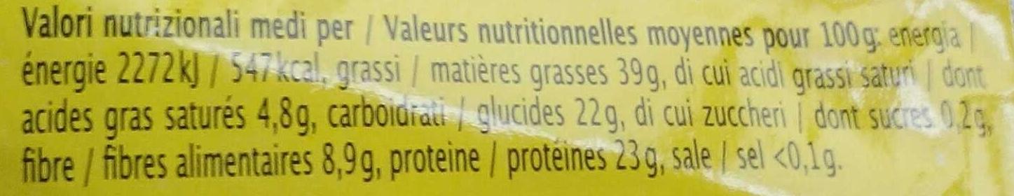 Mélange de graines - Nutrition facts