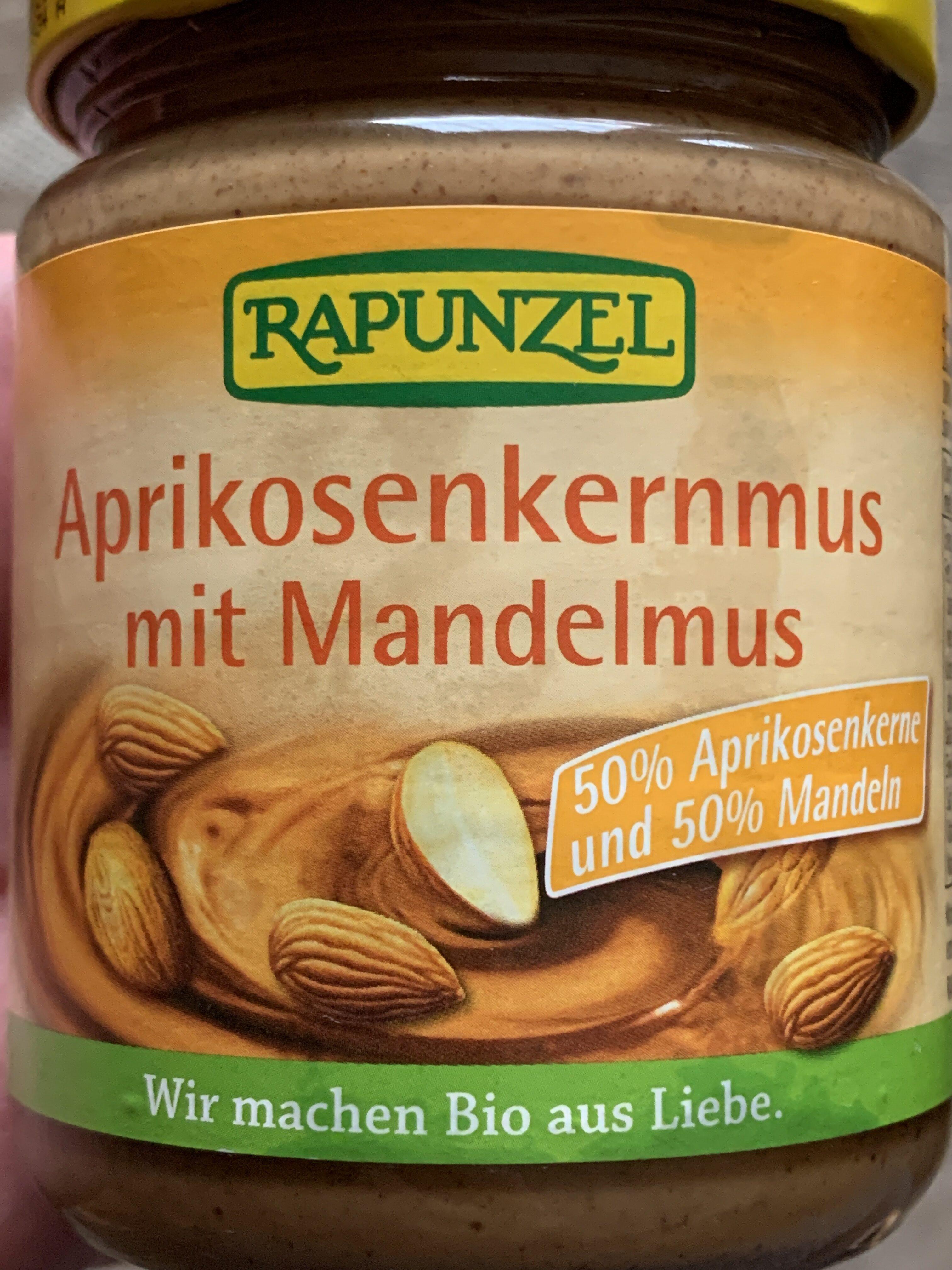 Aprikosenkernmus mit Mandelmus - Produit - de