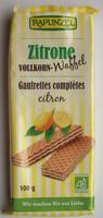 Gaufrettes complètes citron - Produit - fr