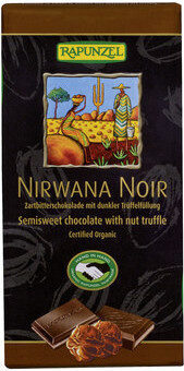 Chocolat Nirwana Noir Praliné - Produkt - de