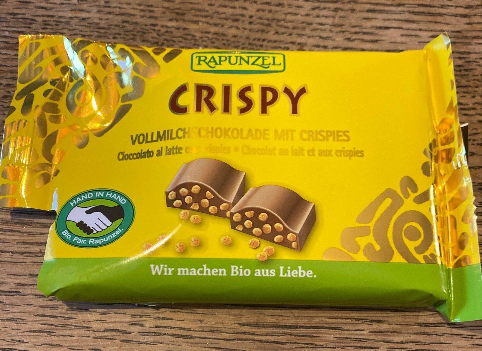 CRISPY Chocolat au lait et aux crispies - Nährwertangaben - de