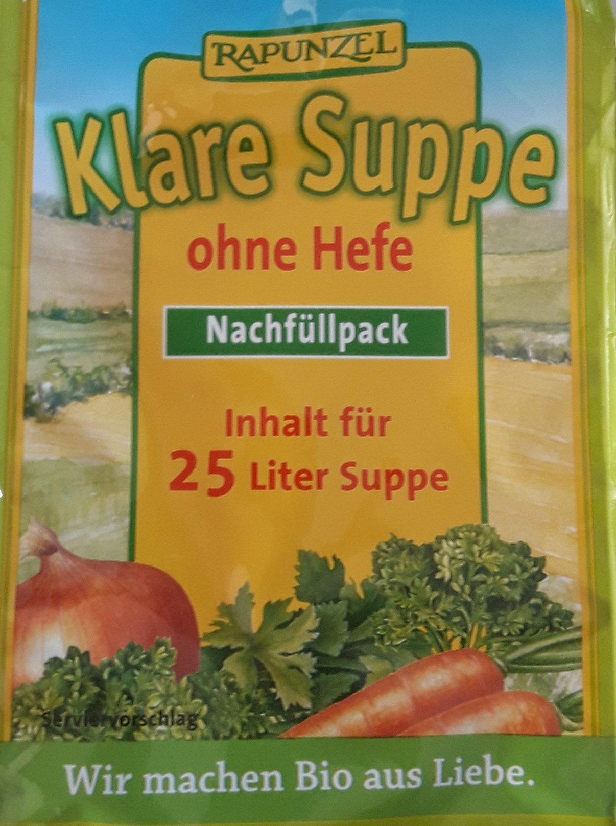 Bouillon sans levure - Klare Suppe - Product - fr