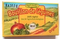 Bouillon de légumes Original Bio (8 tablettes) - Product - fr