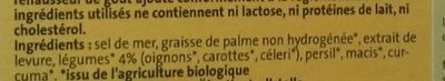 Bouillon de légumes Original Bio (8 tablettes) - Ingrediënten - fr