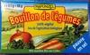 Bouillon de légumes Bio pauvre en sel (8 tablettes) - Product