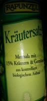 Kräutersalz - Product - de