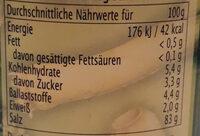 Kräutersalz - Nutrition facts - de