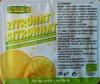 Cubes d'écorces de citrons confites - Produit