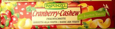 Barre Raisin Cranberry Cajou - Product