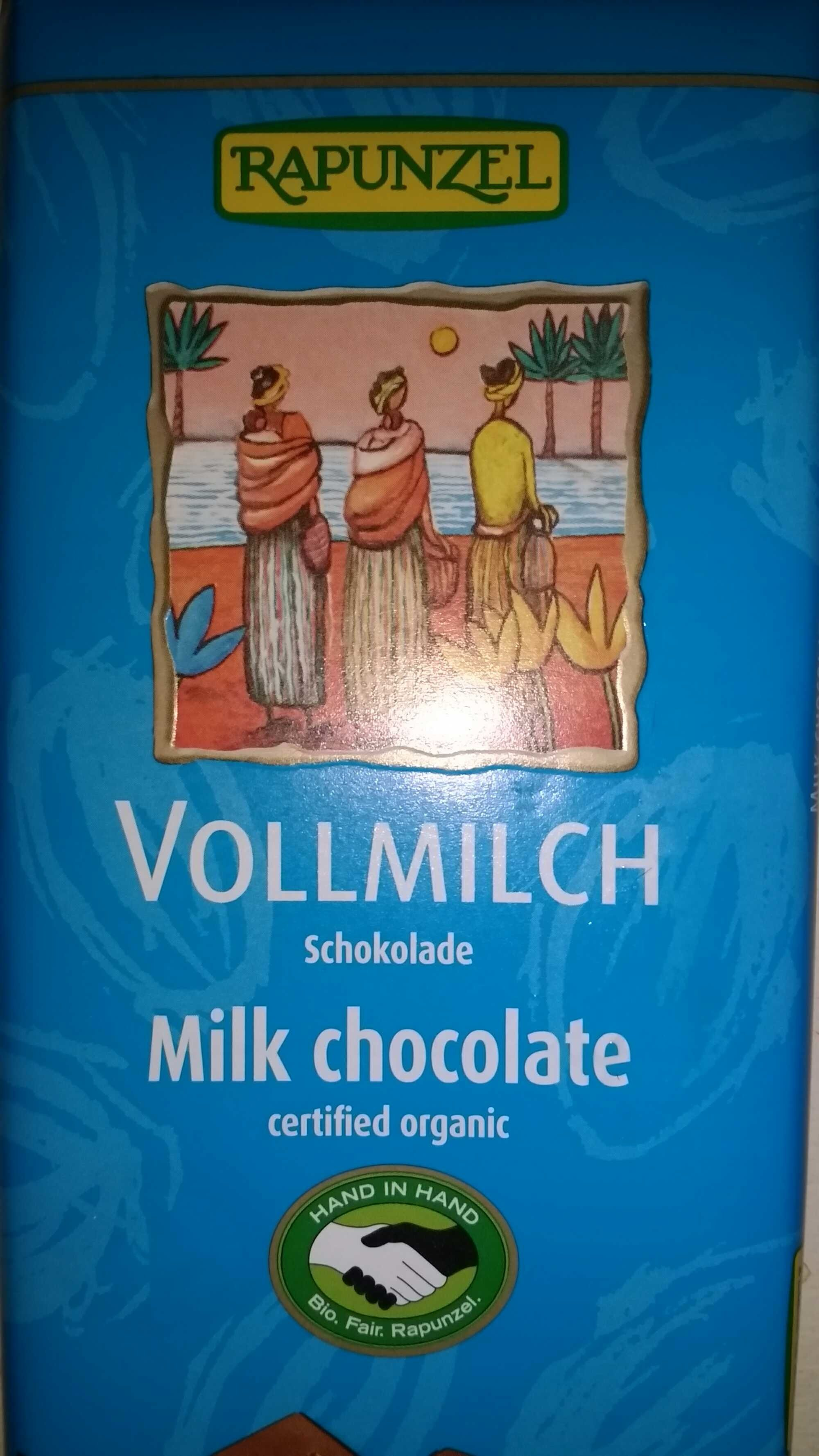 Vollmich schokolade - Product