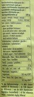 Frühstücksbrei Kakao Banane - Nutrition facts