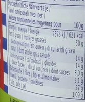 Original Peanutbutter Creamy - Informations nutritionnelles - fr