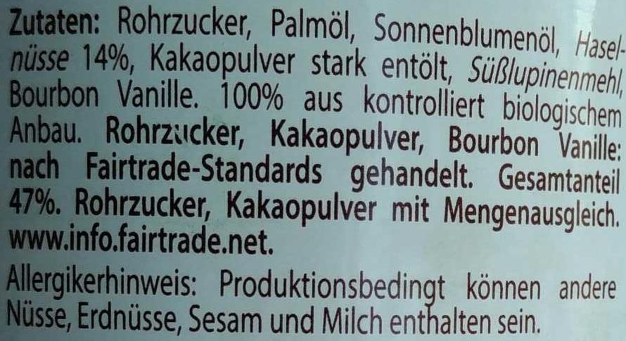Bionella - Ingredienti - de