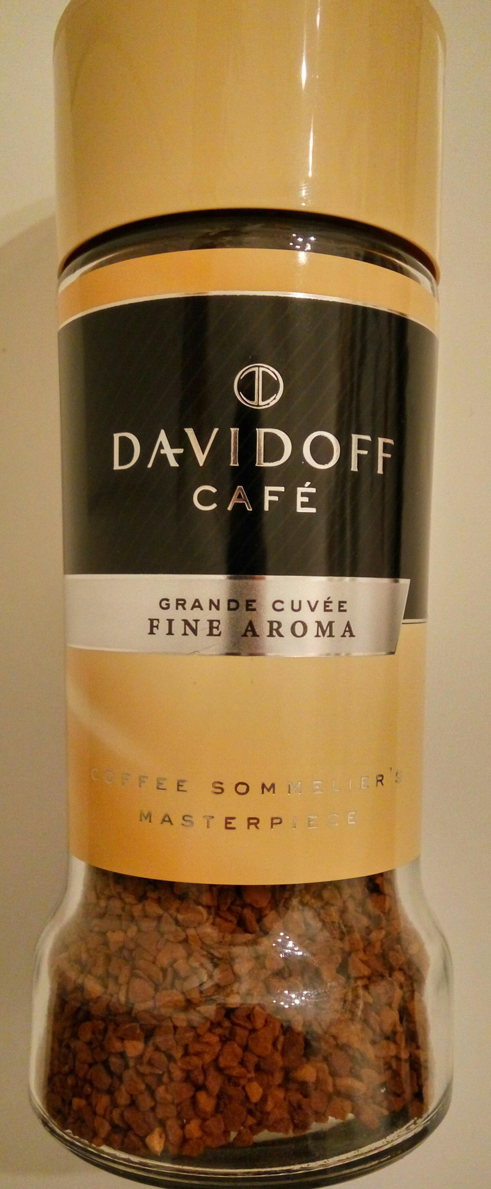 Davidoff Café Grand Cuvée Fine Aroma - Produit - hu