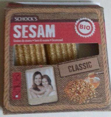 Sesamriegel, Sesamkrokant - Produit - fr
