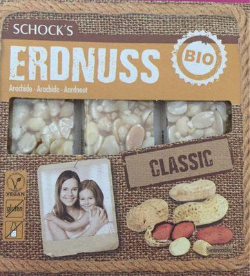 Schocks Erdnuss Krokant Riegel, Erdnuss Krokant - Produit
